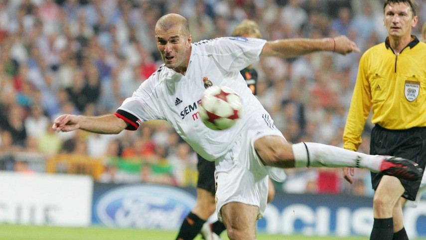 Cinco momentos de Zidane en LaLiga
