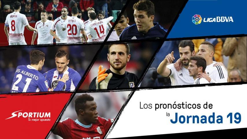 Los pronósticos de la jornada 19 de la Liga BBVA