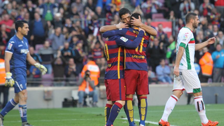 Messi devuelve los tres puntos al FC Barcelona con un 'hat-trick'