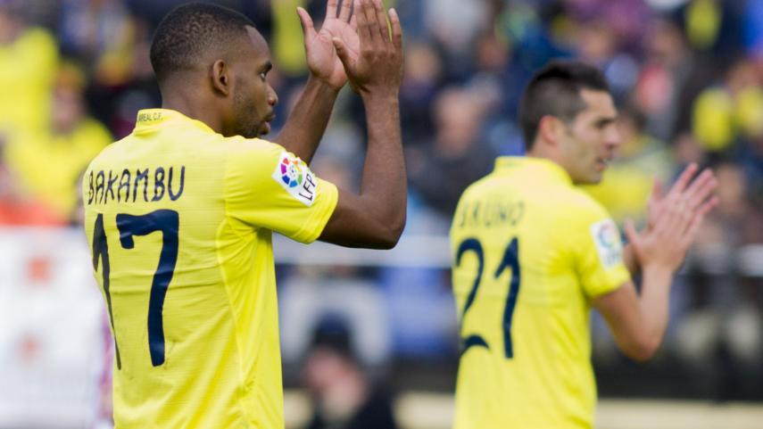 Bakambu pone la guinda a la primera vuelta del Villarreal