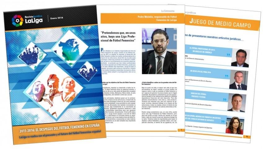 Ya está disponible el tercer número de la Revista Jurídica LaLiga
