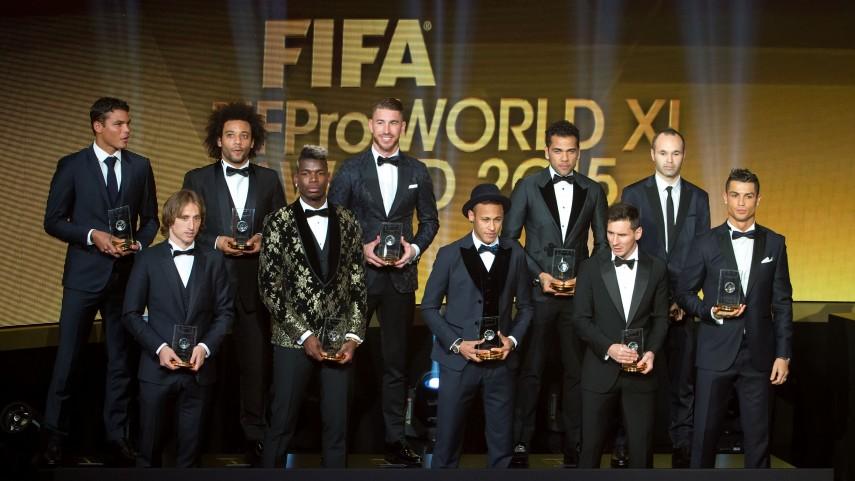 Supremacía de la Liga BBVA en el once ideal de la FIFA