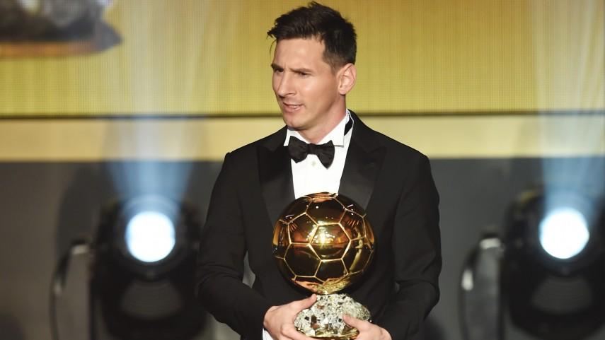 Messi conquista su quinto FIFA Ballon d'Or