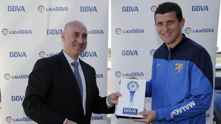 Javi Gracia, mejor entrenador de la Liga BBVA en diciembre