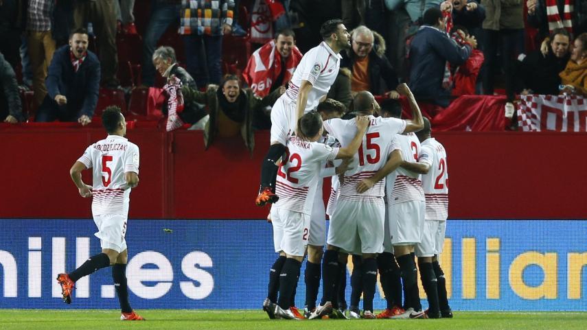 Sevilla y Mirandés firman su pase a cuartos de final de la Copa del Rey