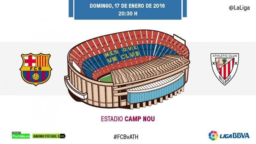 FC Barcelona y Athletic Club se vuelven a ver las caras