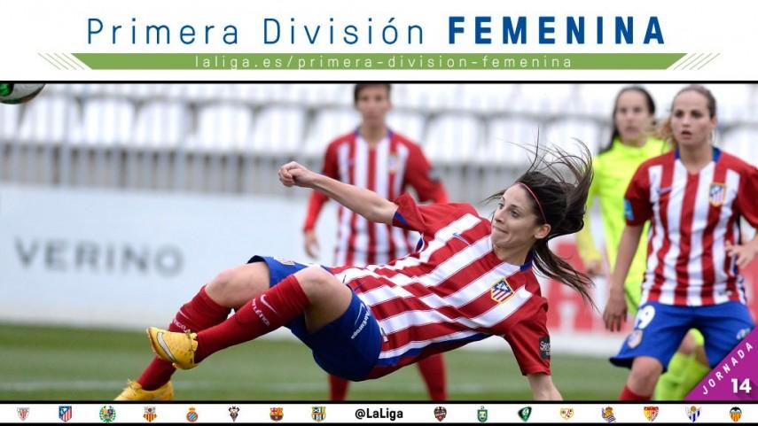 Todos los focos puestos en el Atlético de Madrid - FC Barcelona de la Primera División Femenina