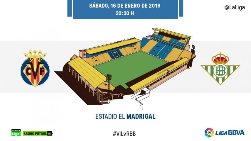 Un Villarreal lanzado en LaLiga espera a un 'nuevo' Betis