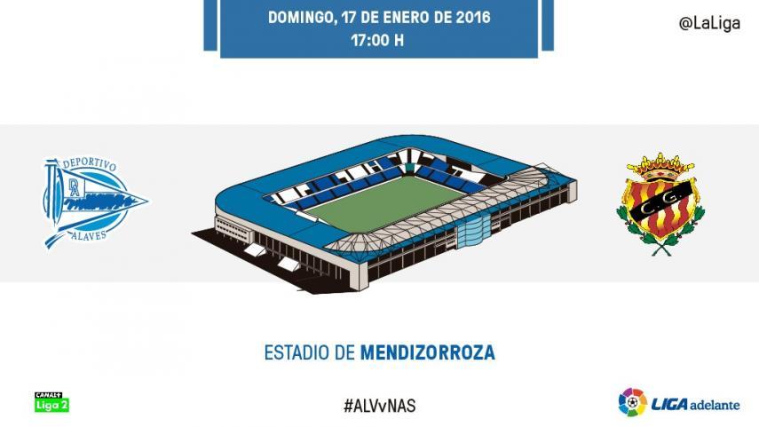 El Alavés busca su noveno encuentro consecutivo puntuando