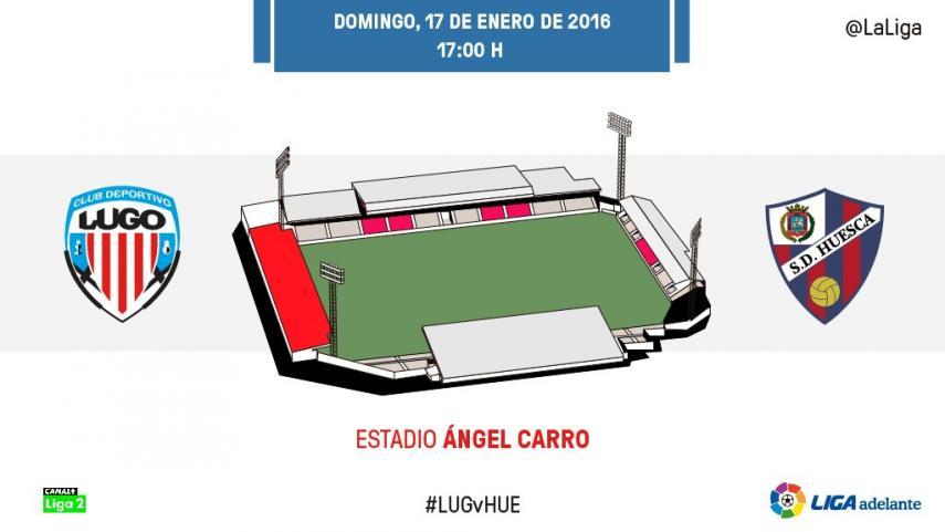 El buen momento del CD Lugo frente a una SD Huesca 'muy visitante'
