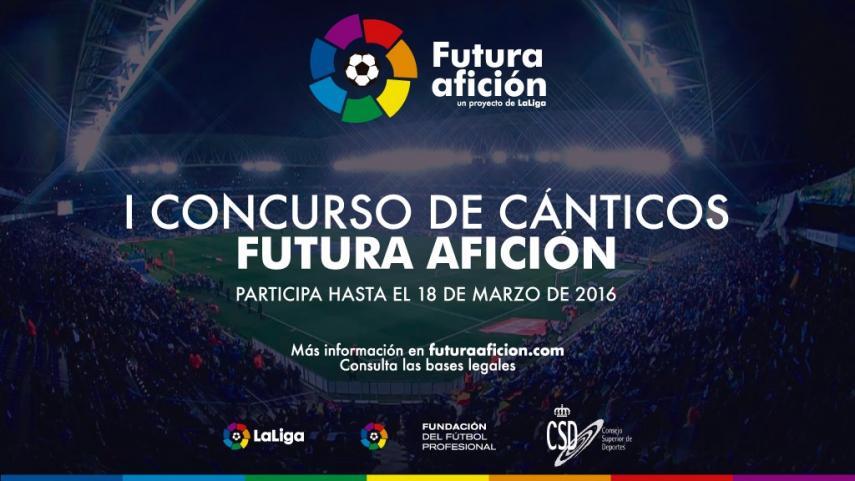 Participa en el 'I Concurso de Cánticos Futura Afición'
