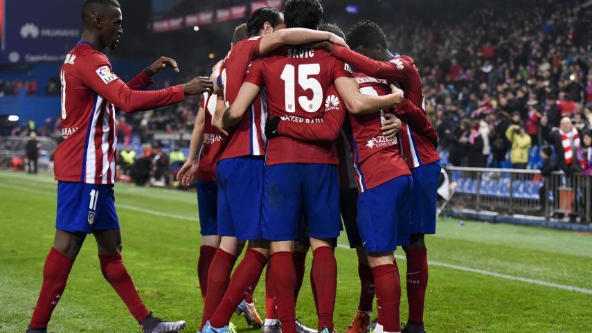Atlético y Valencia cierran su pase a los cuartos de final de la Copa del Rey