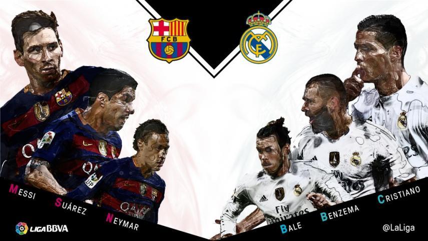 Duelo de tridentes entre Real Madrid y Barcelona