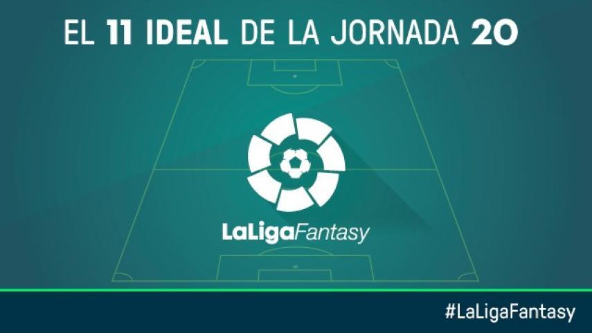 Once ideal de LaLiga Fantasy en la jornada 20