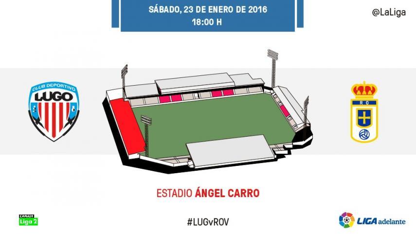 El CD Lugo quiere cortar la racha del R. Oviedo