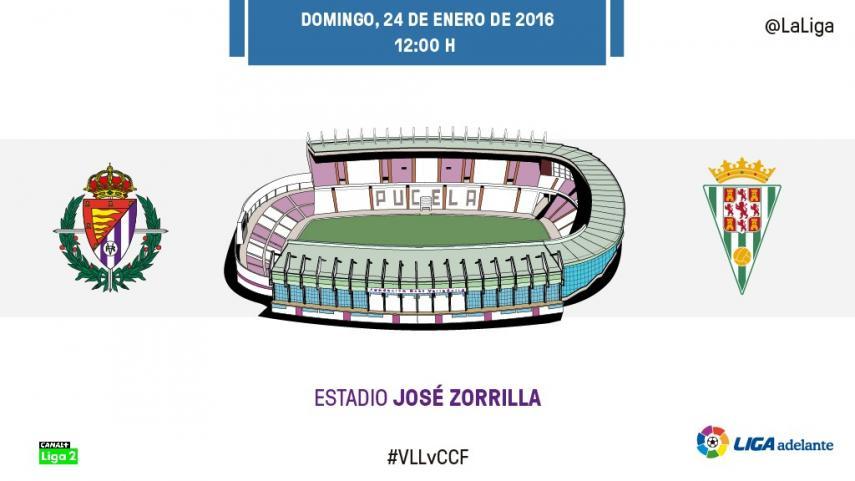 Cita entre goleadores en el José Zorrilla
