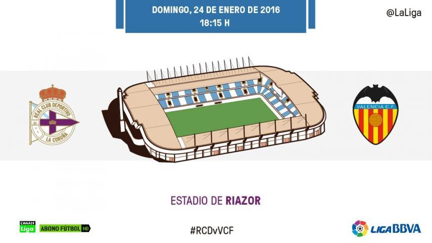 El Deportivo y el Valencia quieren reencontrarse con su mejor versión