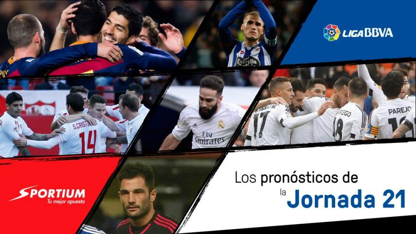 Los pronósticos de la jornada 21 de la Liga BBVA