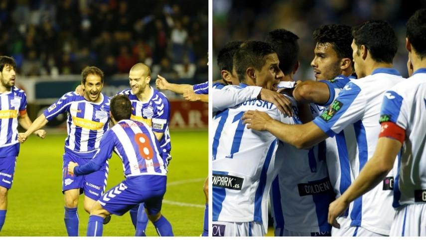 Leganés y Alavés, los equipos con más goleadores de Liga Adelante