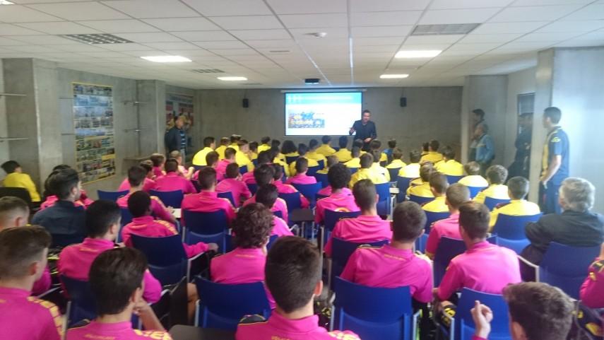 Los talleres de integridad de LaLiga visitan Canarias