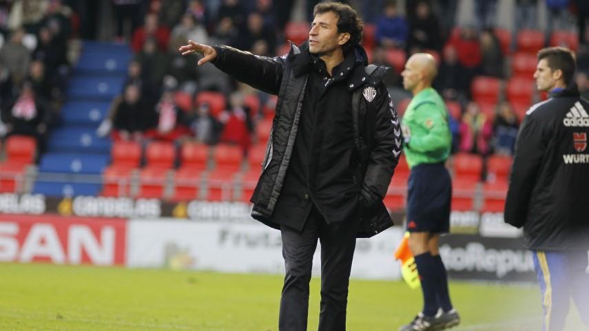 Luis Milla, nuevo entrenador del R. Zaragoza
