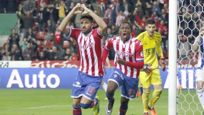 El gol de Carmona a los 14'', la mejor medicina