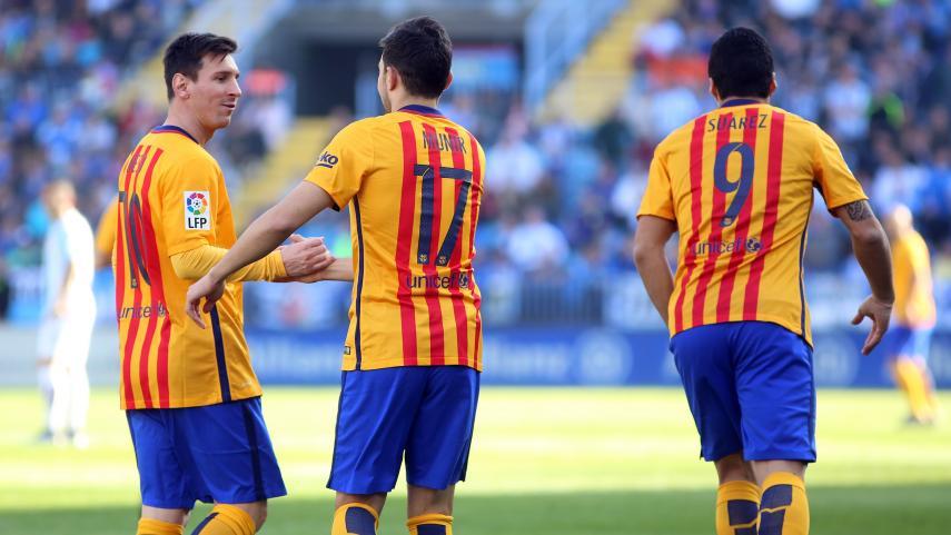 El FC Barcelona saca tres puntos ante un Málaga peléon