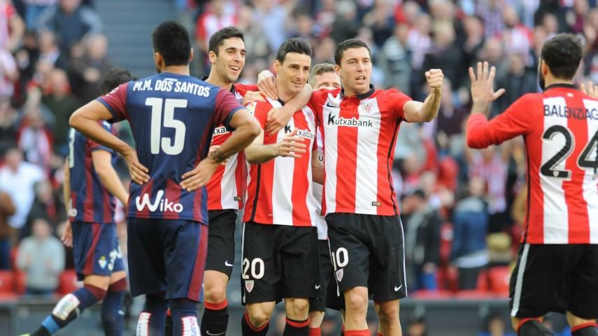 El Athletic coge el tren de Europa de la mano de Aduriz