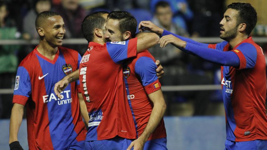 El Levante de Morales puede con Las Palmas de Willian José