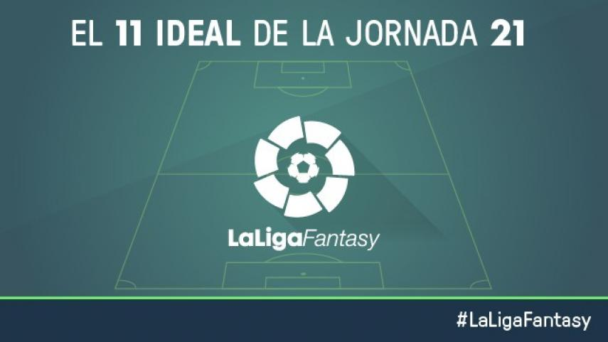 Once ideal de LaLiga Fantasy en la jornada 21