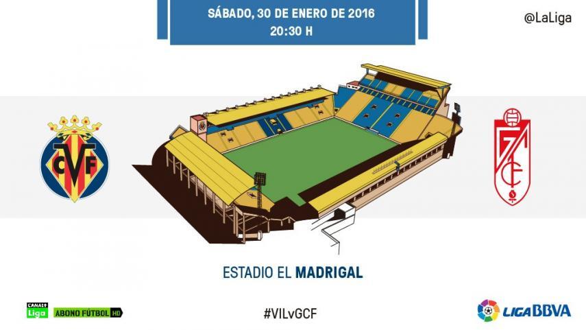La ambición del Villarreal reta a un Granada con novedades