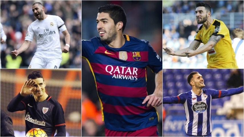 Análisis de los delanteros más goleadores de la Liga BBVA
