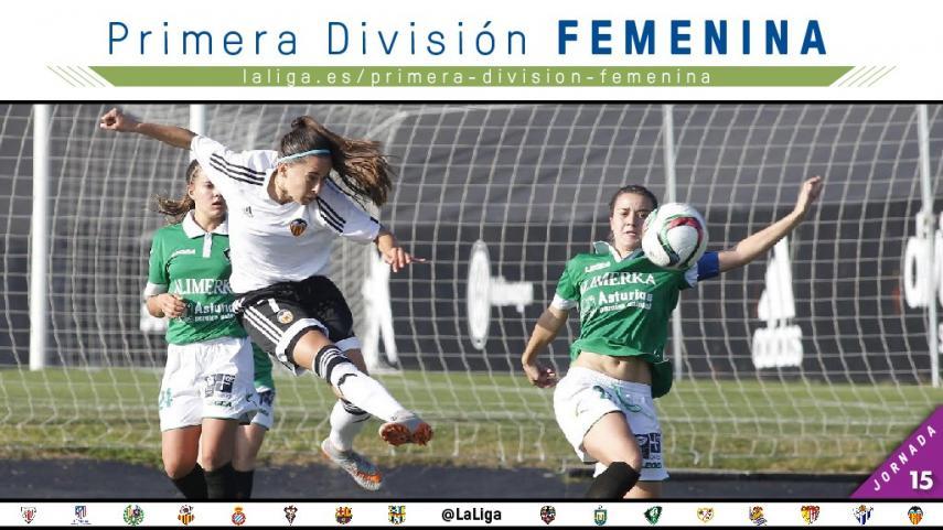 Termina la primera vuelta en la Primera División Femenina