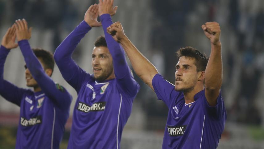 El CD Leganés entra por primera vez en puestos de ascenso directo