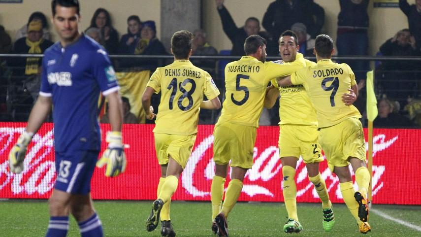 Bruno Soriano deja los tres puntos en El Madrigal