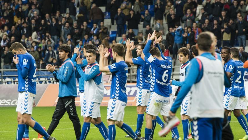 El Oviedo se hace fuerte en el Tartiere