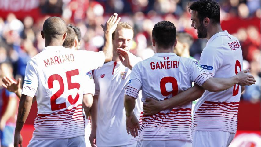 El Sevilla FC se crece en el Sánchez-Pizjuán
