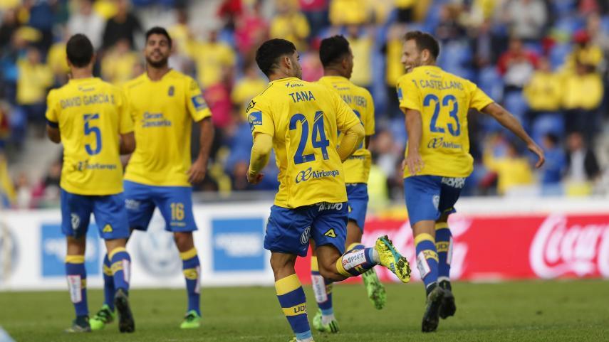 Willian José devuelve la ilusión a Las Palmas