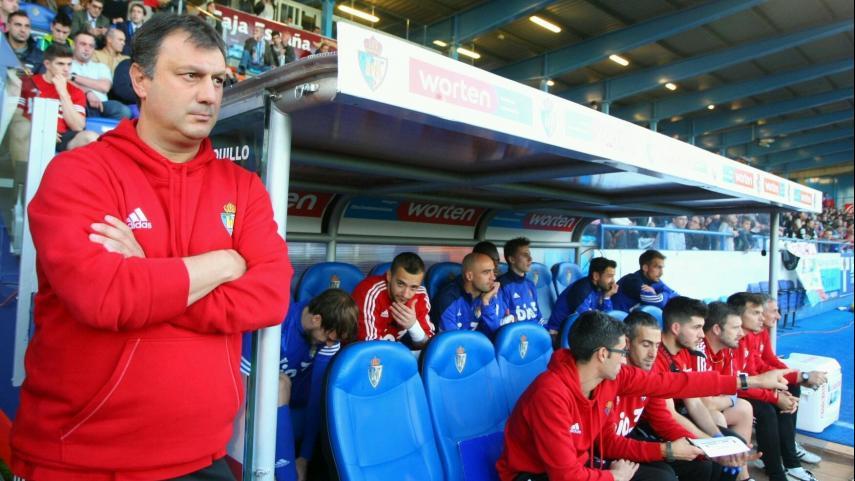 Manolo Díaz, destituido como entrenador de la SD Ponferradina