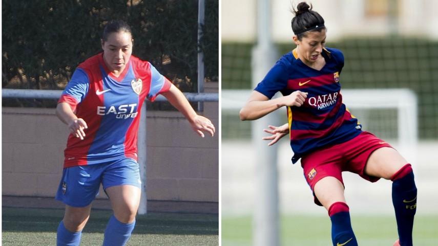 Charlyn Corral y Jenni Hermoso, máximas goleadoras de Primera División Femenina