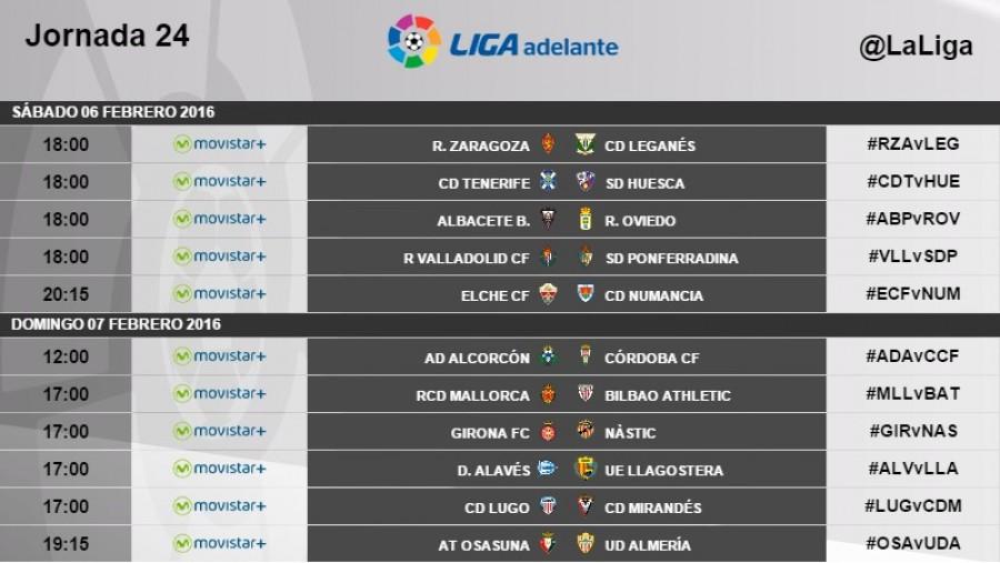 Tag horarios jornada 24 | Liga de Fútbol Profesional