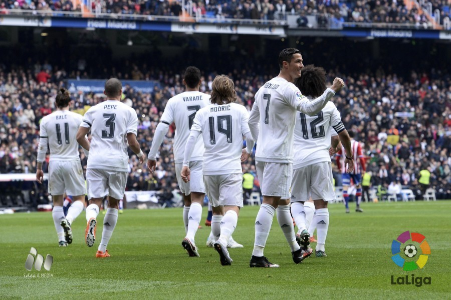 c92034b113717 The five leading scorers in Liga BBVA are three players from Real Madrid  and two from FC Barcelona.
