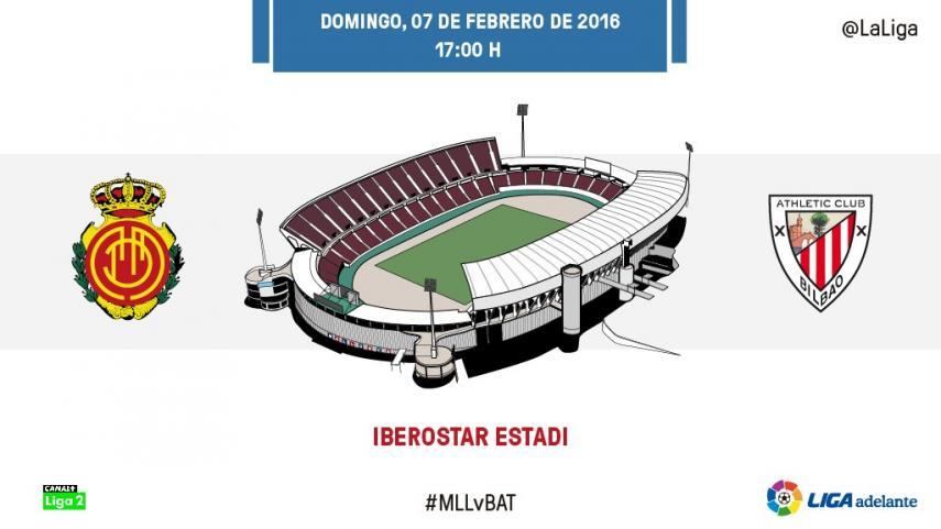 El Bilbao Athletic mide la ilusión del nuevo Mallorca