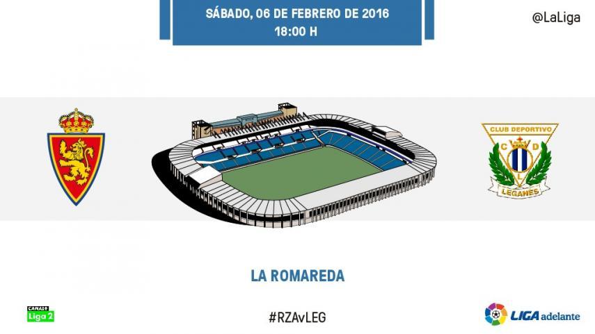 El Zaragoza quiere contagiarse del buen momento del Leganés