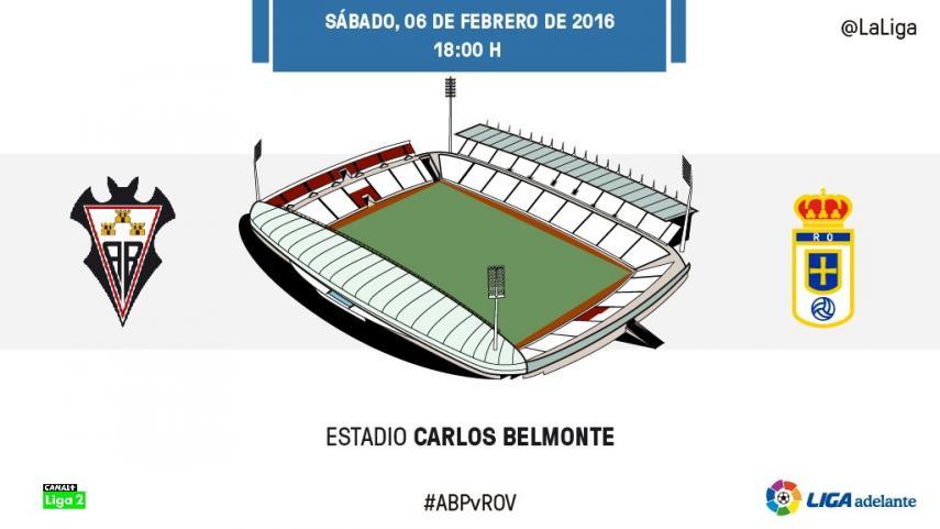 El Albacete examina el buen momento del Real Oviedo