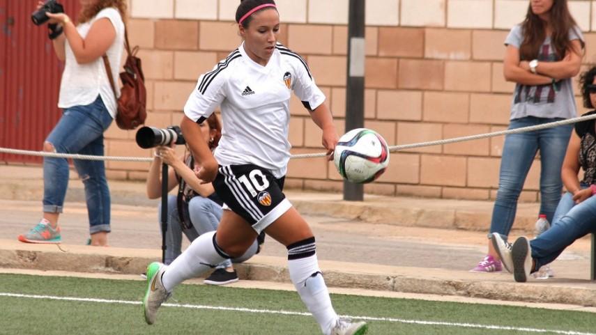 Maripaz Vilas, máxima goleadora de la Primera División Femenina