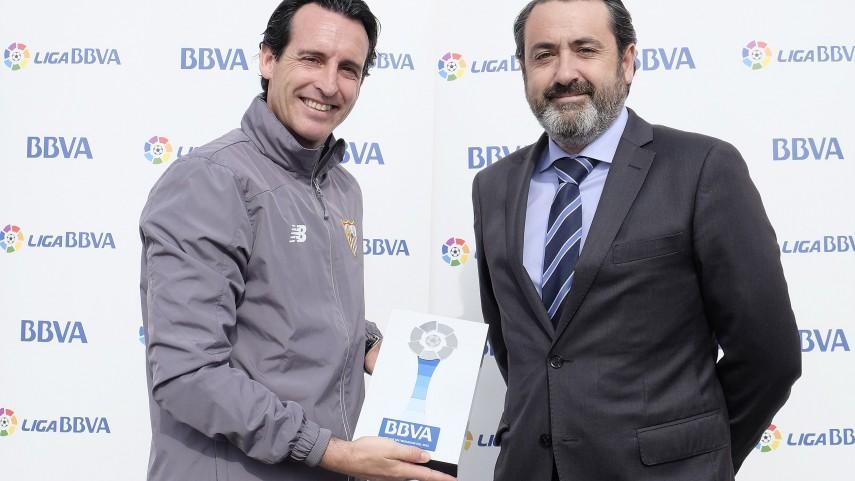 Unai Emery, mejor entrenador de la Liga BBVA en enero