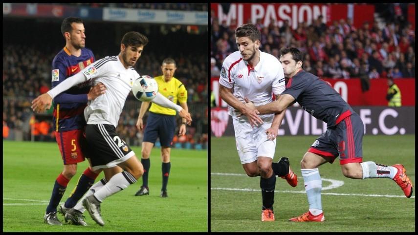 El RC Celta y el Valencia CF se aferran a la ilusión para estar en la final de la Copa del Rey