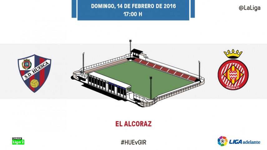 El Huesca necesita los tres puntos para alejarse de los puestos de descenso