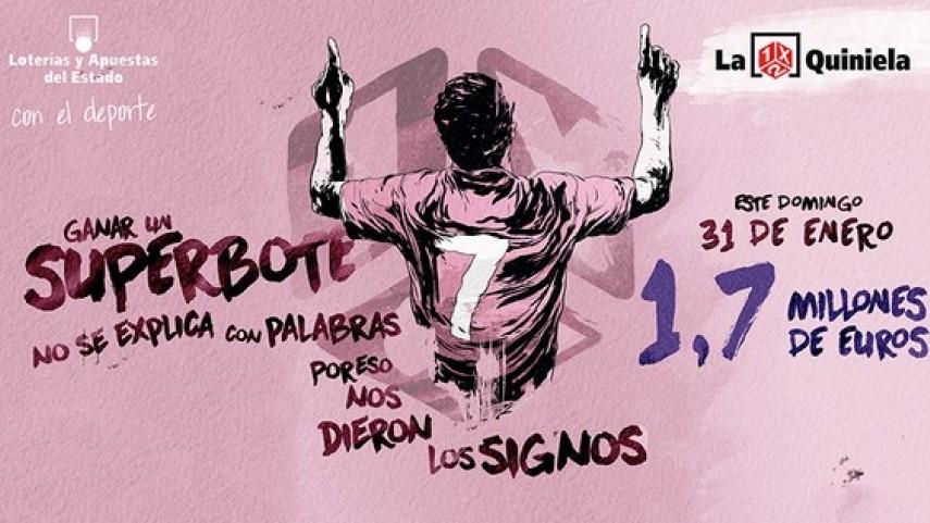 Vuelve el Superbote de La Quiniela: 1.700.000 euros